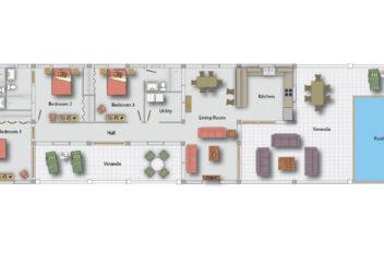 Planters Floor Plan